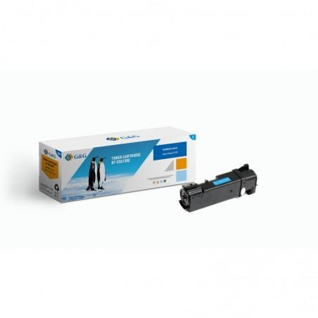 G&G COMPATIBLE CON Xerox PHASER 6110 CYAN CARTUCHO DE TONER GENERICO 106R01271 ALTA CALIDAD