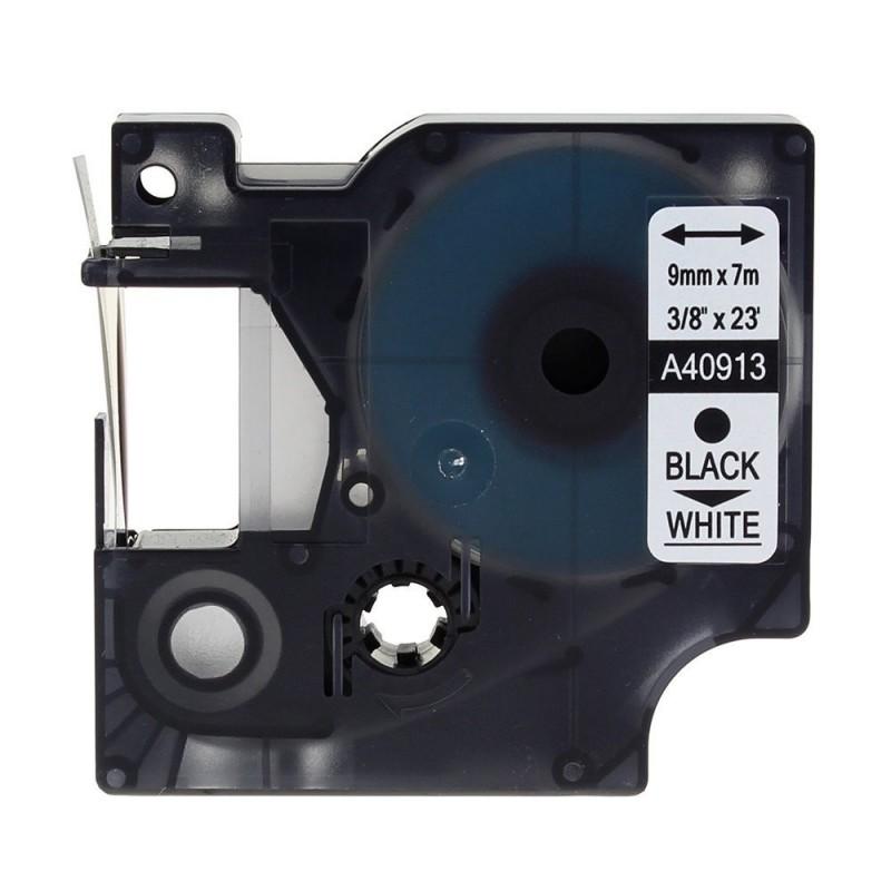 COMPATIBLE CON Brother DKN55224 -Etiquetas No Adhesivas Genericas Tamaño personalizado 54mmx30,48 m. Texto negro sobre blanco
