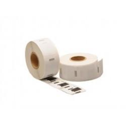 COMPATIBLE CON Brother DK11203 - Etiquetas Genericas Precortadas para Carpetas -17x87mm- 300 Unid.- Texto negro sobre blanco