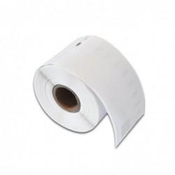 COMPATIBLE CON Brother MK231BZ Cinta No Laminada Generica de Etiquetas - Texto negro sobre fondo blanco - Ancho 12mm x 4 m.