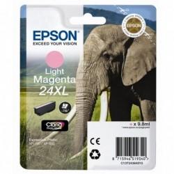 COMPATIBLE CON Brother TZe344 Cinta Laminada Generica de Etiquetas - Texto dorado sobre fondo negro - Ancho 18mm x 8 metros