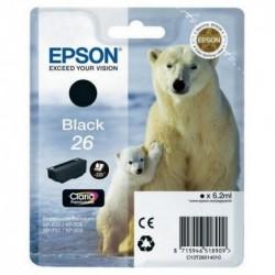 COMPATIBLE CON Brother TZe345 Cinta Laminada Generica de Etiquetas - Texto blanco sobre fondo negro - Ancho 18mm x 8 metros