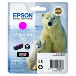 COMPATIBLE CON Brother TZe355 Cinta Laminada Generica de Etiquetas - Texto blanco sobre fondo negro - Ancho 24mm x 8 metros