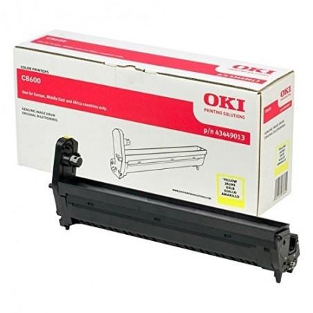 COMPATIBLE CON Brother DK22606 - Etiquetas Genericas Tamaño personalizado -Ancho 62mmx15,24 m. -Texto negro sobre amarillo