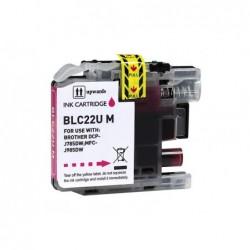 COMPATIBLE CON Brother DK22243 - Etiquetas Genericas Tamaño personalizado -Ancho 102mmx30,48 m.- Texto negro sobre blanco
