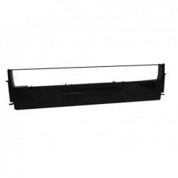 COMPATIBLE CON Brother DK22211 - Etiquetas Genericas Tamaño personalizado -Ancho 29mmx15,24 m.- Texto negro sobre blanco