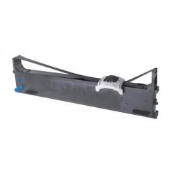COMPATIBLE CON Brother TZeFA4 Cinta Textil Generica de Etiquetas - Texto azul sobre fondo blanco - Ancho 18mm x 3 metros