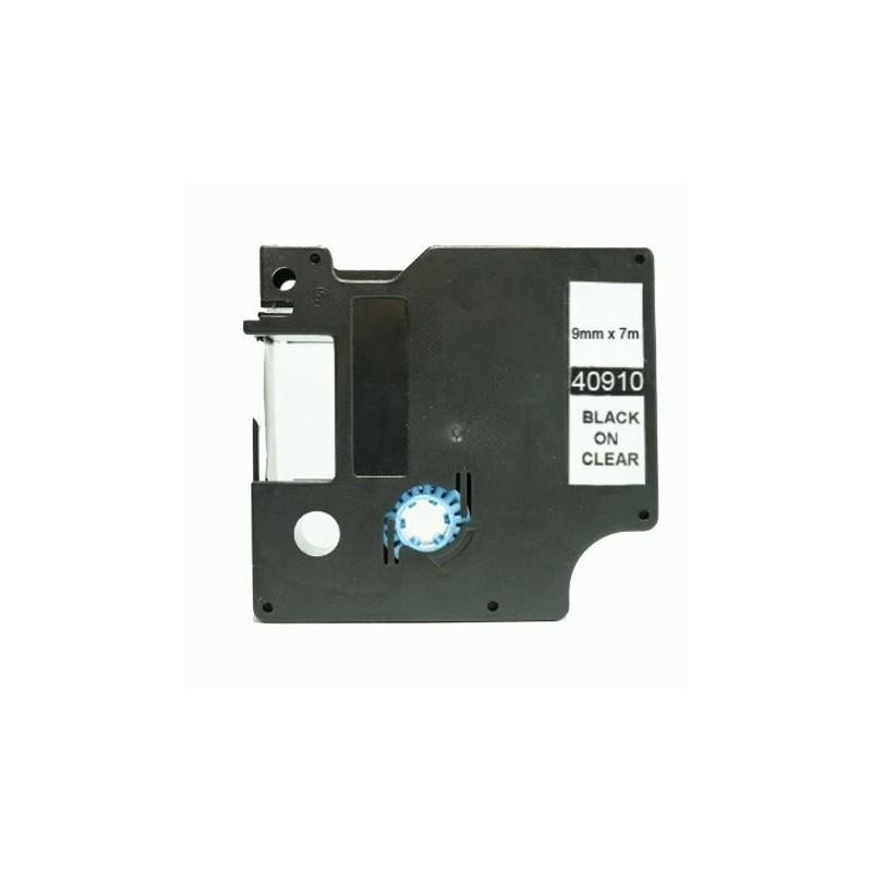 COMPATIBLE CON Brother DK11219 - Etiquetas Precortadas Circulares -12mm Diametro - 1200 Unid.- Texto negro sobre blanco