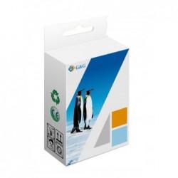 G&G COMPATIBLE CON BROTHER LC127XL V3 NEGRO CARTUCHO DE TINTA PIGMENTADA GENERICO LC127XLBK DE ALTA CALIDAD PREMIUM