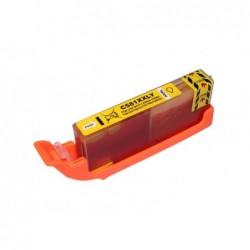 G&G COMPATIBLE CON BROTHER LC985 AMARILLO CARTUCHO DE TINTA GENERICO LC985Y DE ALTA CALIDAD PREMIUM